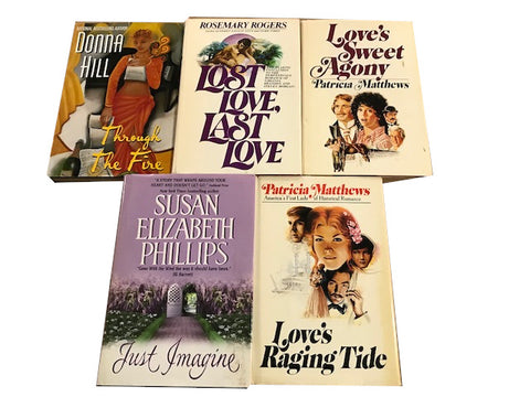 hardcover romance adult books