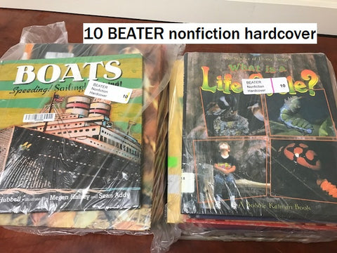 10 BEATER nonfiction hardcovers