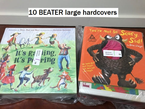 20 BEATER large paperbacks books sold by the book bundler