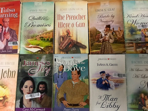 heartsong inspirational romance books sold by the book bundler