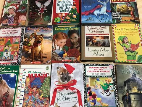 christmas kids chapter books
