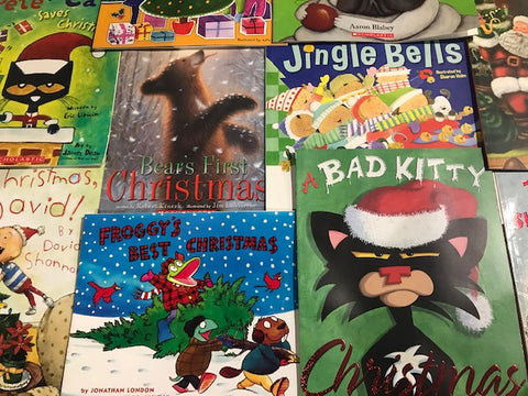 kids illustrated books christmas