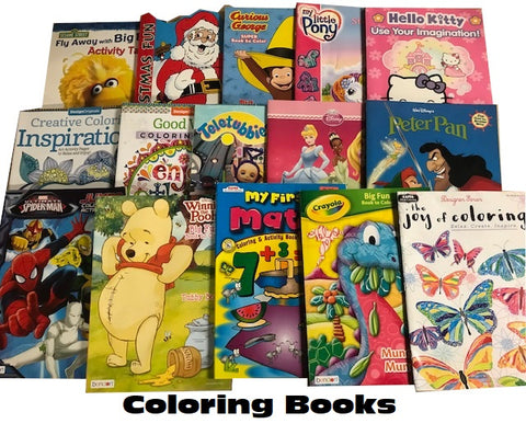 bulk coloring books sold by the book bundler