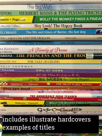 illustrated hardcovers sold by the book bundler