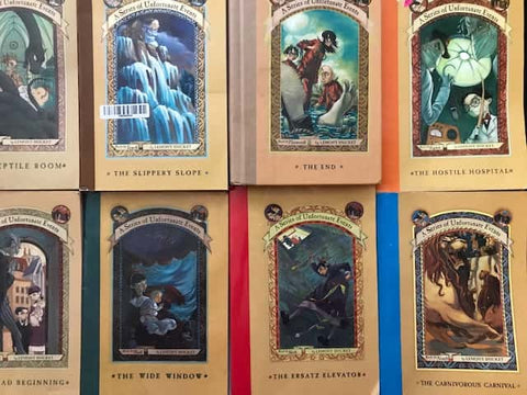 cheap children's chapter books a series of unfortunate events sold by the book bundler