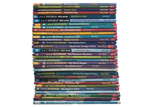 cheap a to z mysteries kids chapter books sold by the book bundler
