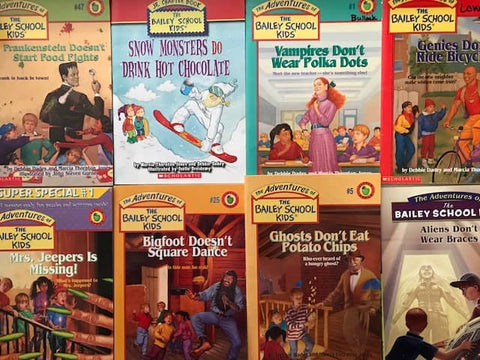 cheap children's bailey kids chapter books sold by the book bundler