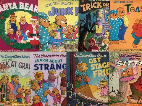 berenstain bears books for less sold by the book bundler