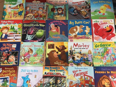 examples of board books included in the preschool toddler book box sold by the book bundler