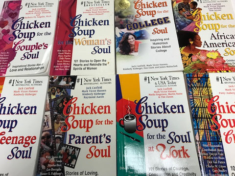 chicken soup for the soul book bundle sold by the book bundler