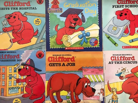 cheap illustrated kids books clifford the big red dog sold by the book bundler