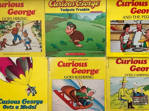 curious george books for less sold by the book bundler
