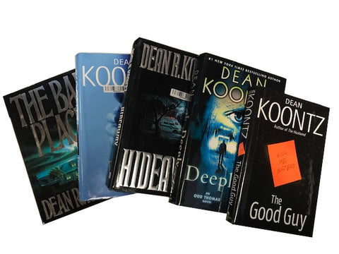 Books by Dean Koontz sold by the book bundler