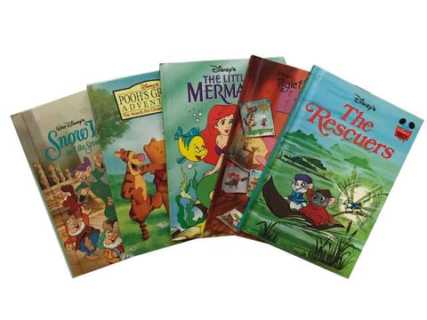 cheap illustrated children's disney hardcover picture books sold by the book bundler