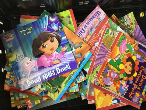 cheap illustrated children's dora the explorer books sold by the book bundler