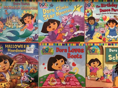 dora the explorer books for less sold by the book bundler