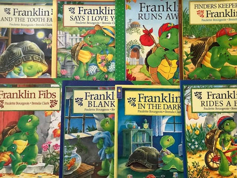 cheap children's illustrated franklin picture book sold by the book bundler