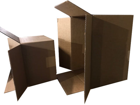 half stack and big box of books sold by the book bundler