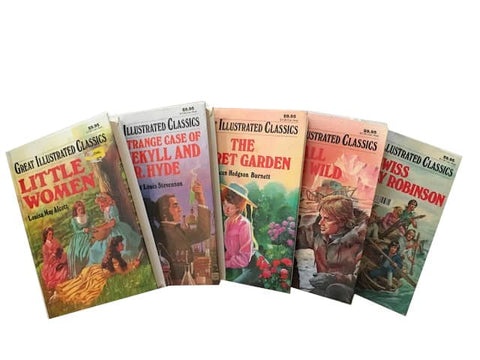 cheap kids illustrated classics chapter books sold by the book bundler