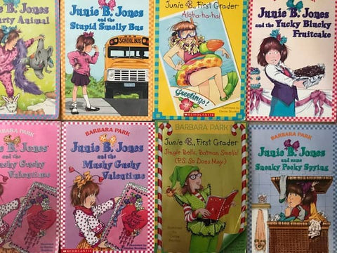 kids chapter books junie b jones cheap