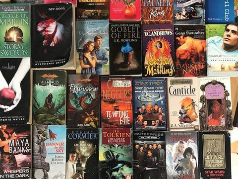 cheap mass market paperback books sold by the book bundler