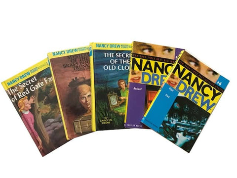 cheap used kids chapter books nancy drew sold by the book bundler
