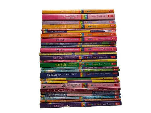 kids chapter books rainbow magic cheap boxes
