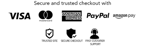 paypal, amazon pay or any major credit card trust sign