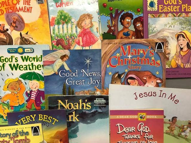 TheBookBundler Bulk Books 20 books / Premium Used Christian Small Paperbacks & Readers <br> (ages 3-8)