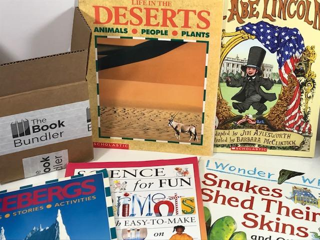 TheBookBundler Bulk Books Nonfiction Kids Paperback Books
