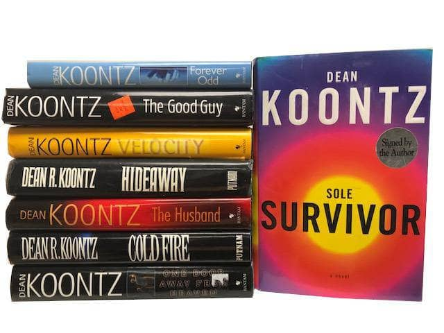 TheBookBundler Hidden 5 Books Dean Koontz <br> (Books by Author)