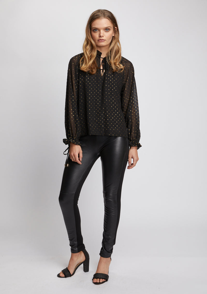 Unity Leather Leggings