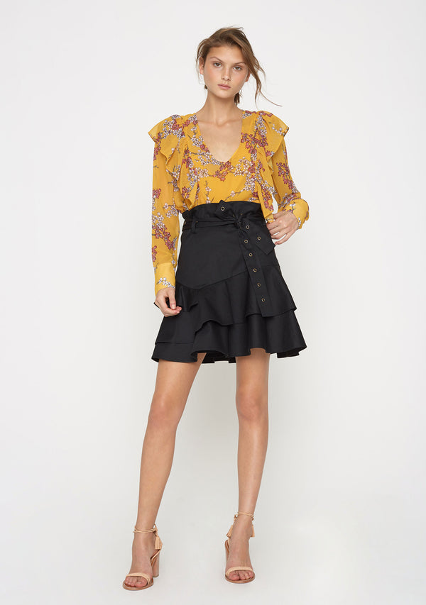 Golden Blossom Top Front