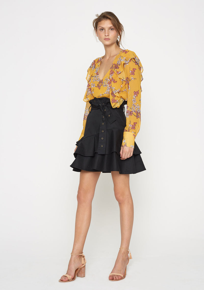 Golden Blossom Top Side