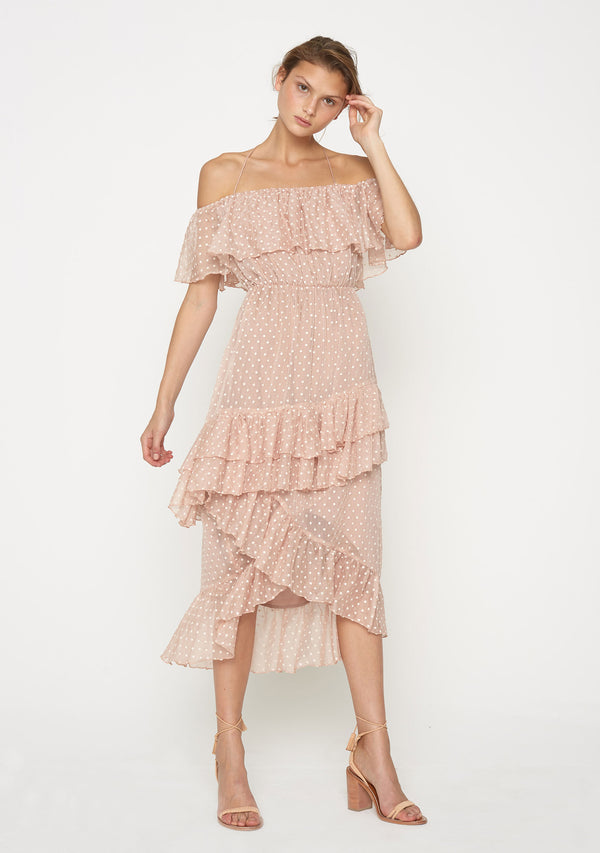 Eloise Off The Shoulder Dress