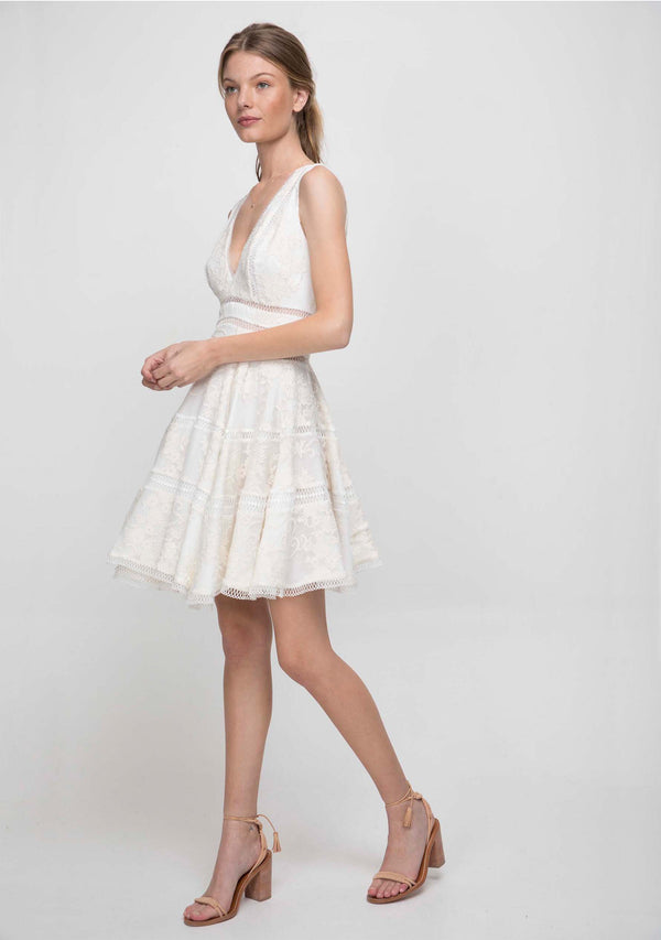 Ethereal Dress Ivory Side