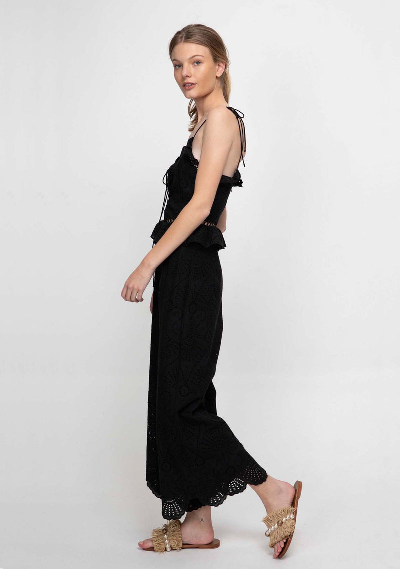 Sand Dune Jumpsuit Black Side