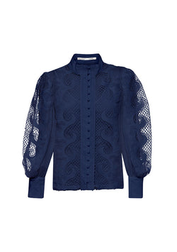 Victoriana Lace Blouse