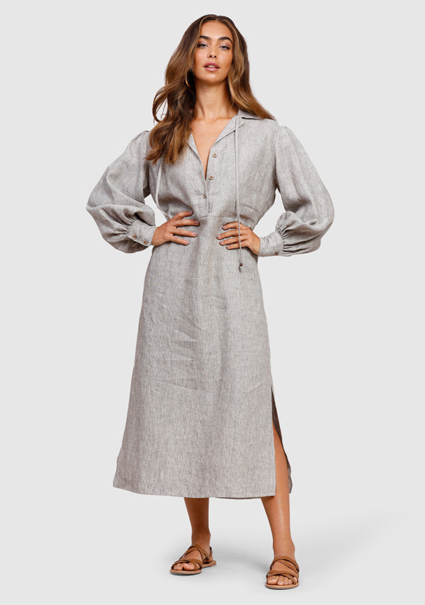Mariner Stripe Shirt Dress