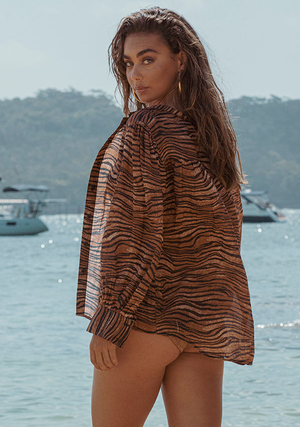 Tigress Blouse