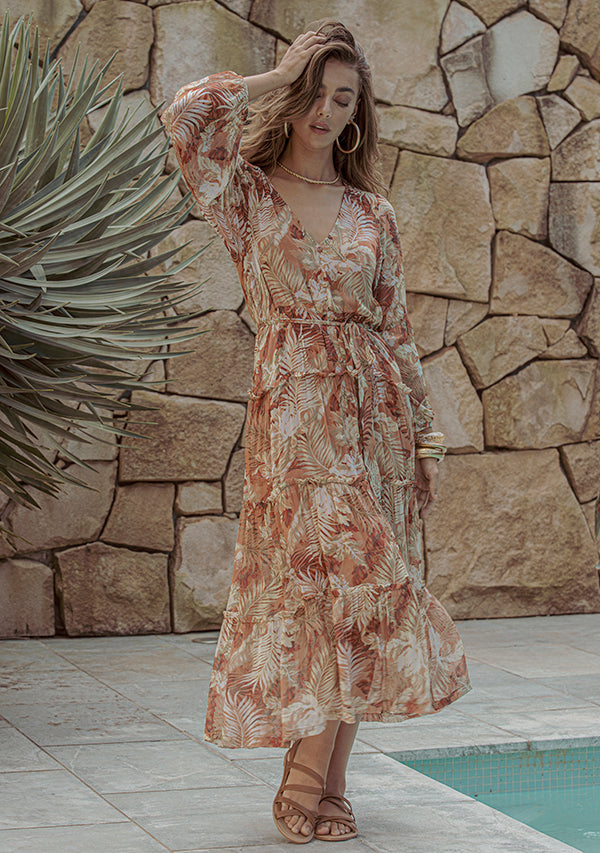Cabana Resort Midi Dress