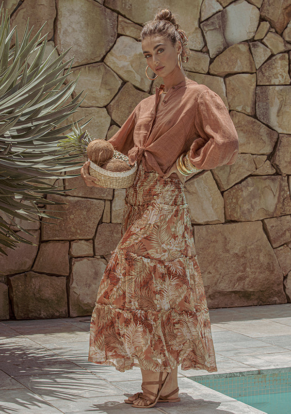 Cabana Resort Maxi Skirt