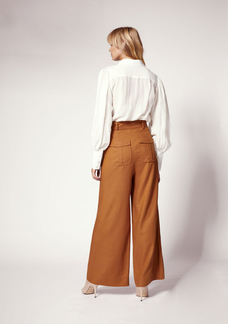 Chameleon Flared Pants Ministry of Style