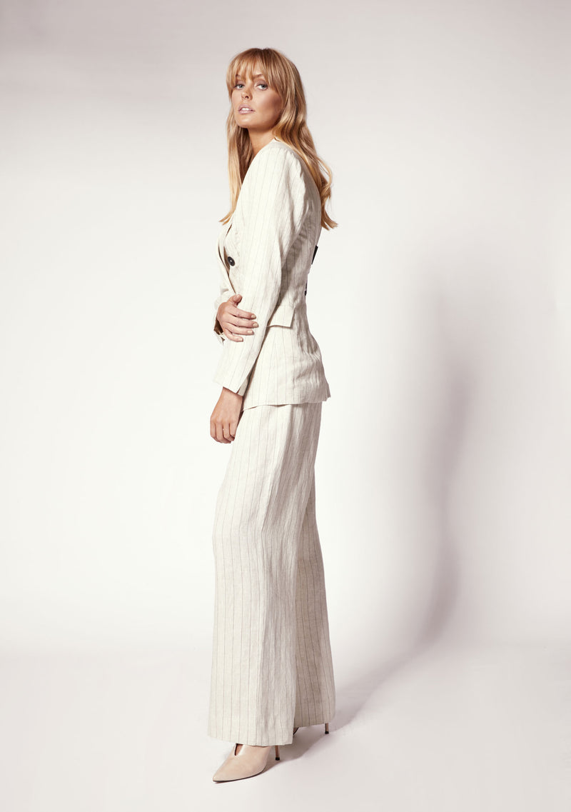 Empire Wide Leg Pant Ministry of Style