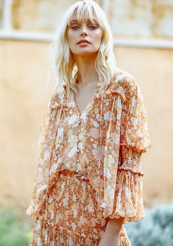 Golden Hour Blouse Ministry Of Style