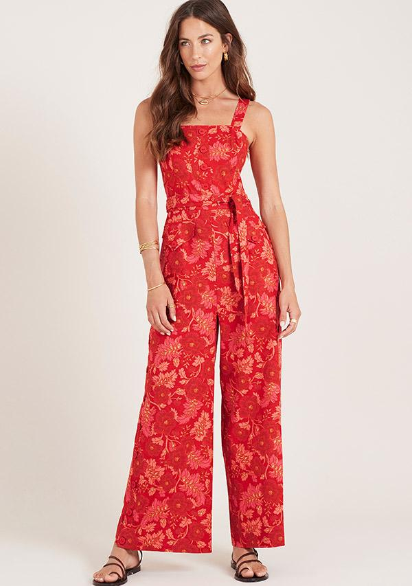 Hibiscus jumpsuit ministry of style
