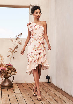 Inner Bloom Asymmetrical Dress