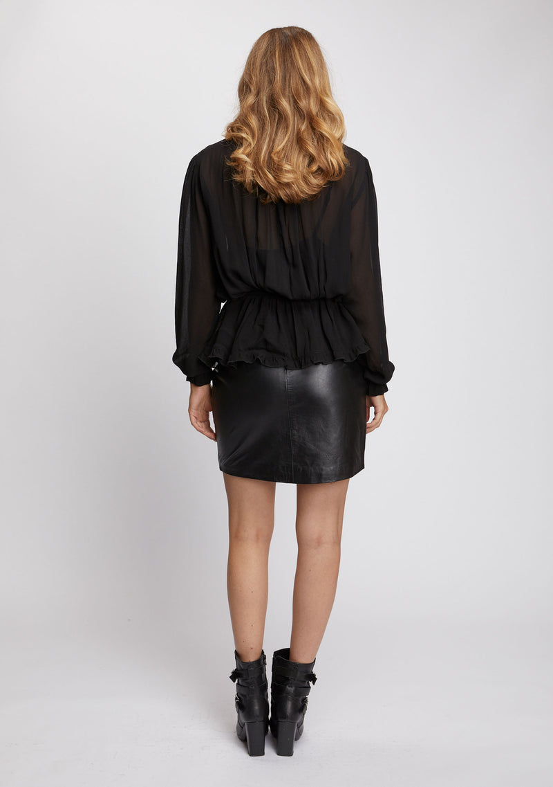 Mimosa Top Black Back