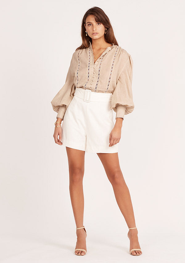 Reed Linen Shorts