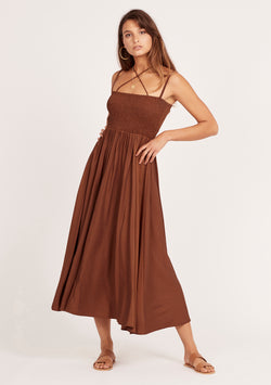 Sunray Strap Dress Ministry Of Style